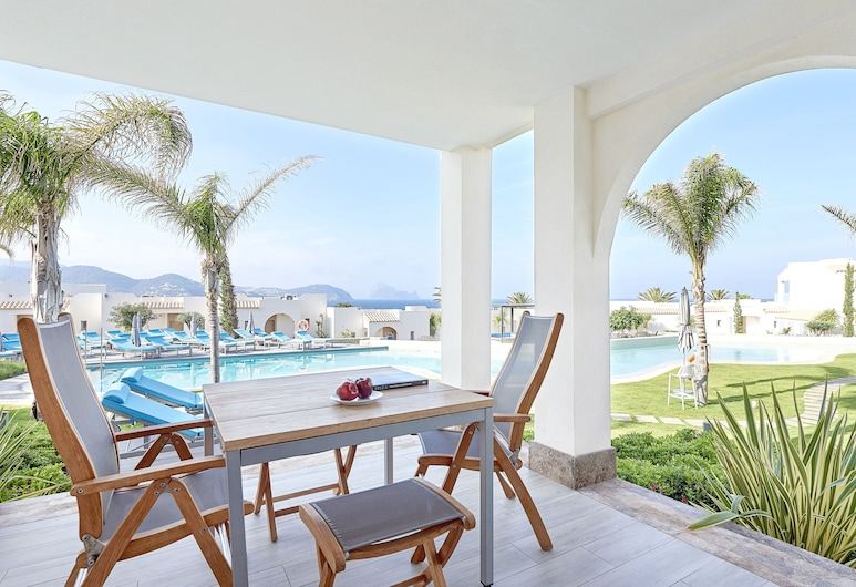 7Pines Kempinski Ibiza, Sant Josep de sa Talaia, Apartmán (Laguna, Family Area), Terasa