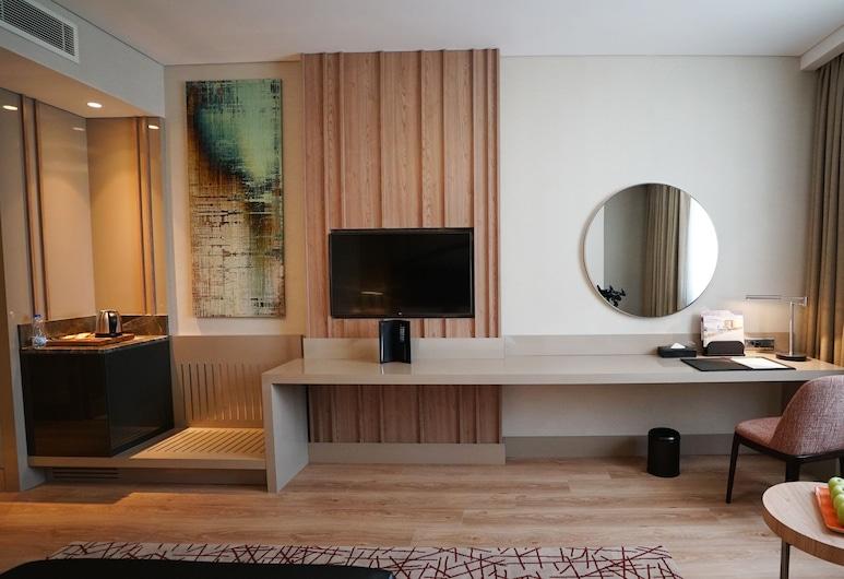 TRYP by Wyndham Istanbul Basın Ekspres, Стамбул, Номер, 1 двуспальная кровать «Квин-сайз», для некурящих (TRYP, Media Room), Номер
