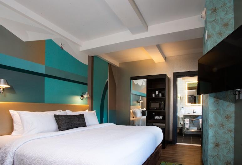 Fairfield Inn & Suites by Marriott Philadelphia Downtown/Center City, Philadelphia, Habitación, 1 cama King size, para no fumadores, Habitación