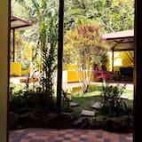 Deluxe-Doppelzimmer, 1 Schlafzimmer, Gartenblick - Blick auf den Garten