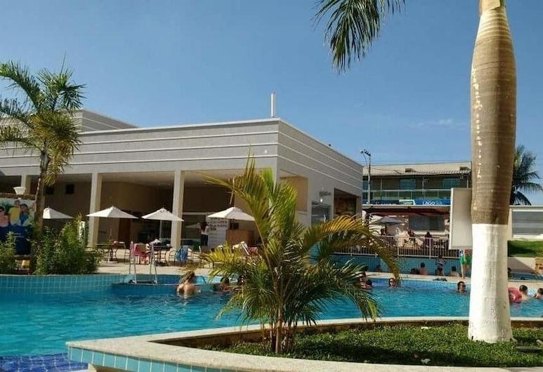Hotel Encontro Das Águas - Apto, Caldas Novas, Útilaug
