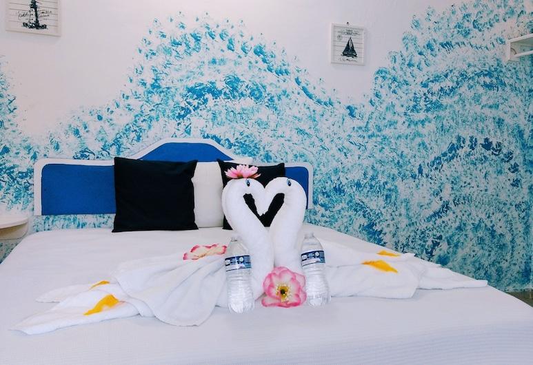 阿文圖拉海灘瑪亞瓦坎澤飯店, 卡曼海灘, 豪華雙人房, 1 張加大雙人床, 客房