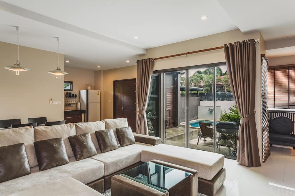 Two Bedroom Pool Villa - Wohnbereich