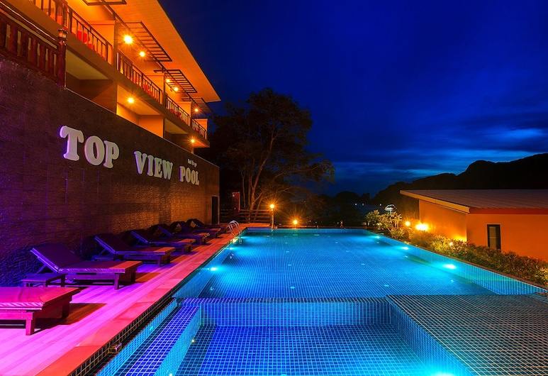 Phi Phi Top View Resort, Ko Phi Phi, Outdoor Pool