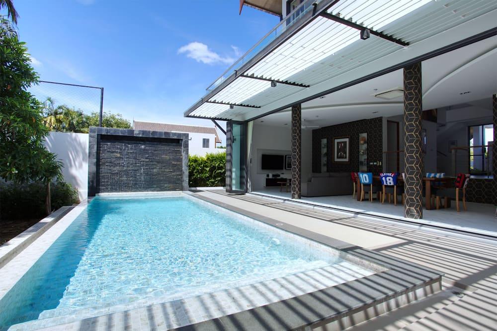 Luxury-Villa, 5Schlafzimmer, eigener Pool - Privatpool
