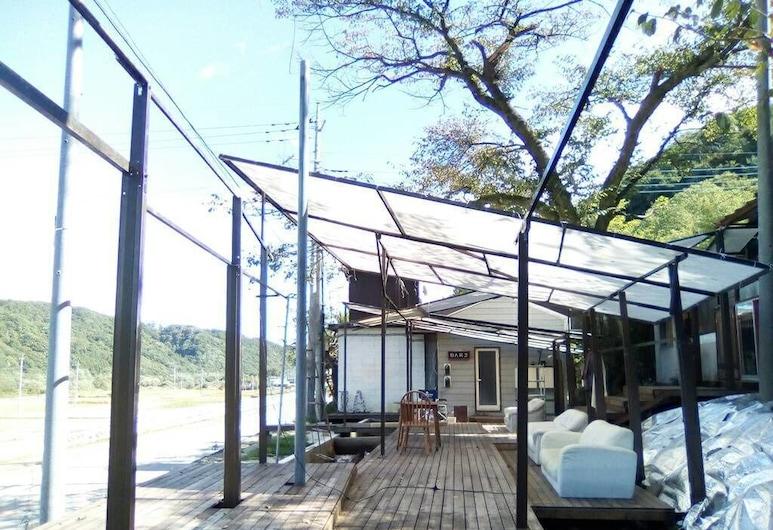 ILA hakushu guest house - Hostel, Hokuto, Terrace/Patio