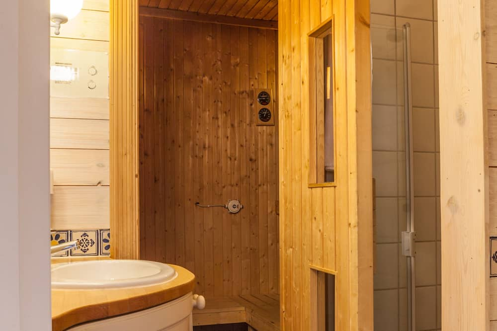 Dobbeltværelse - sauna - Badeværelse