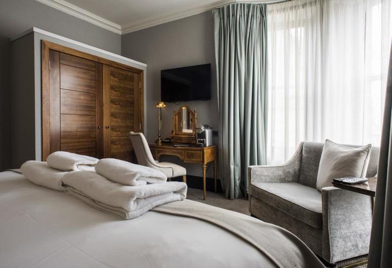 Kinnettles Hotel and Spa, St. Andrews, Dvojlôžková izba typu Deluxe, Hosťovská izba