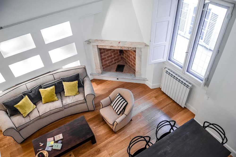 Appartement, 3 slaapkamers (Location: Borgo San Jacopo 15) - Woonkamer