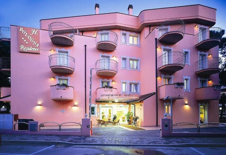 Hotel Bologna, Cervia, Fassade der Unterkunft