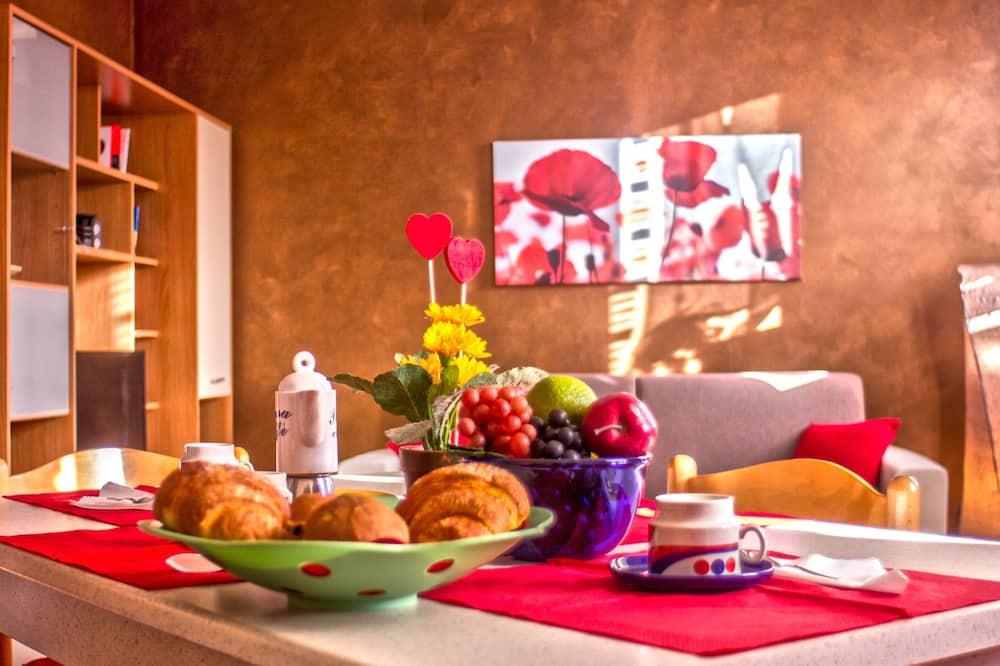 Comfort Dubleks, 1 Yatak Odası, 2 Banyolu - Odada Yemek Servisi