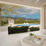 Willa, 2 sypialnie, prywatny basen, widok na góry - Taras/patio