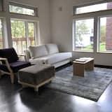 Pokój, 1 sypialnia (C, Deluxe) - Salon