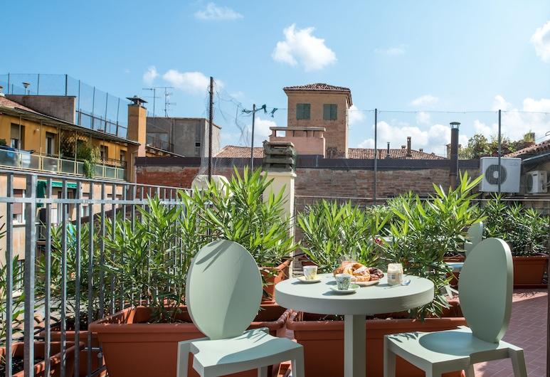 L'8 Boutique Design Apartments, Bologna, Appartamento, terrazzo, Terrazza/Patio