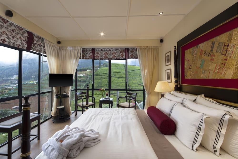 Dvojlôžková izba typu Deluxe, 1 extra veľké dvojlôžko, výhľad na hory - Vybraná fotografia