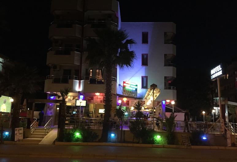 Hotel London Blue, Marmaris, Pohľad na hotel – večer/v noci