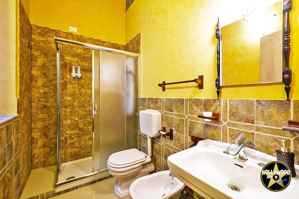 Doppia Deluxe, balcone (external private bathroom, SPARTACUS) - Bagno