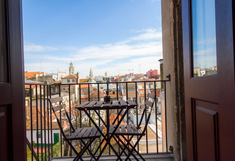 Liiiving in Porto | Historic Clérigos Studios, Porto, Štúdio, balkón ( 3B ), Izba