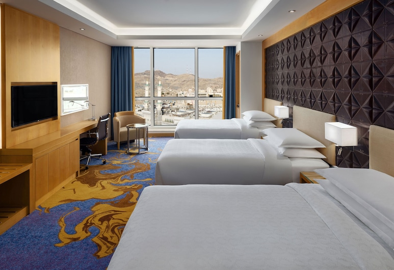 Sheraton Makkah Jabal Al Kaaba Hotel, Mecca, Apartment, 1 Double Bed, Non Smoking, Guest Room