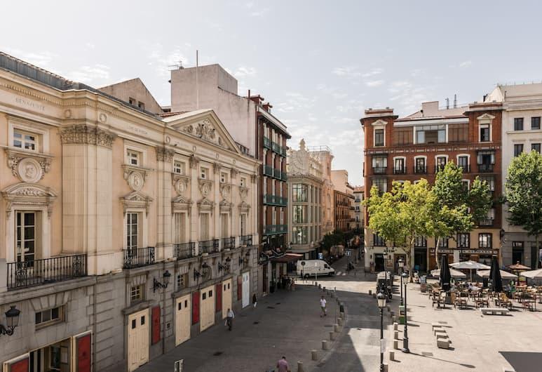 Santa Ana Plaza - MADFlats Collection, Madrid, Apartment, 1 Schlafzimmer, Ausblick vom Zimmer