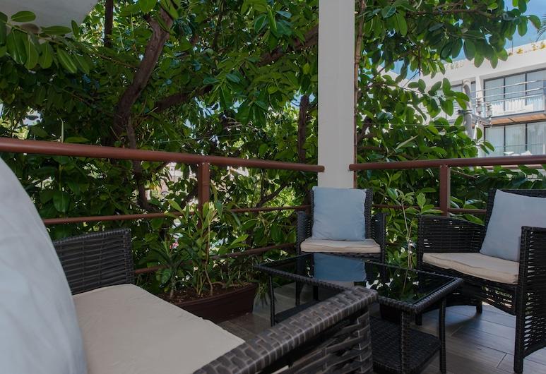 Casa Luca, Playa del Carmen, Exclusive-studiolejlighed - 1 kingsize-seng, Altan
