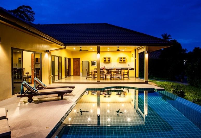尚吉巴海景 3 房別墅酒店, 蘇梅島, 3 Bedroomed Villa Zanzibar - walk to beach, 陽台