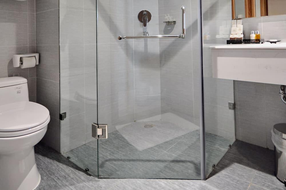 ห้องดีลักซ์ดับเบิลหรือทวิน, 1 ห้องนอน - ห้องน้ำ