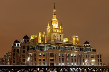 Picture of Saint Yard Arbat in Moscow