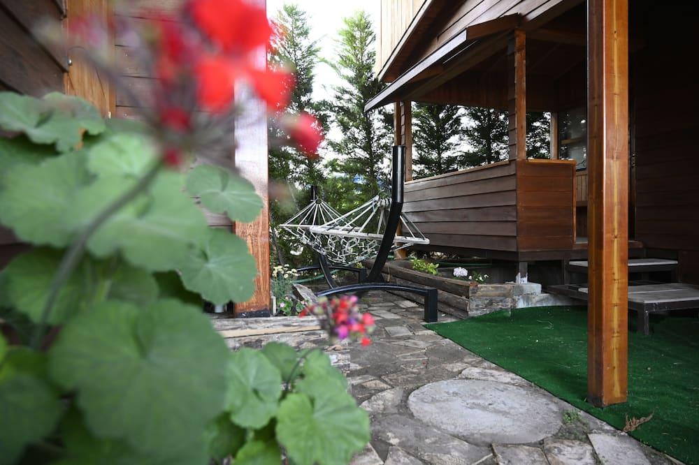 Tradičný bungalov - Balkón