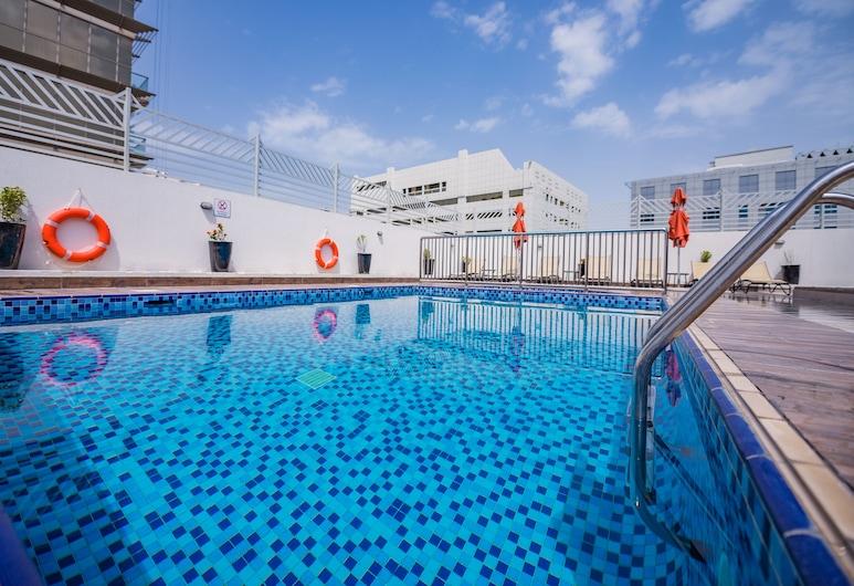 MENA Plaza Hotel Albarsha, Dubai, Rooftop Pool