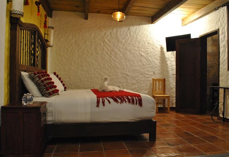 Hotel Na'Lum, San Cristobal de las Casas, Tremannsrom – comfort (1 King and 1 Single Bed), Gjesterom
