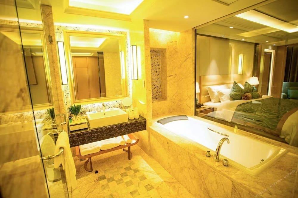 Efficiency, Habitación, 1 cama King size, para fumadores - Baño