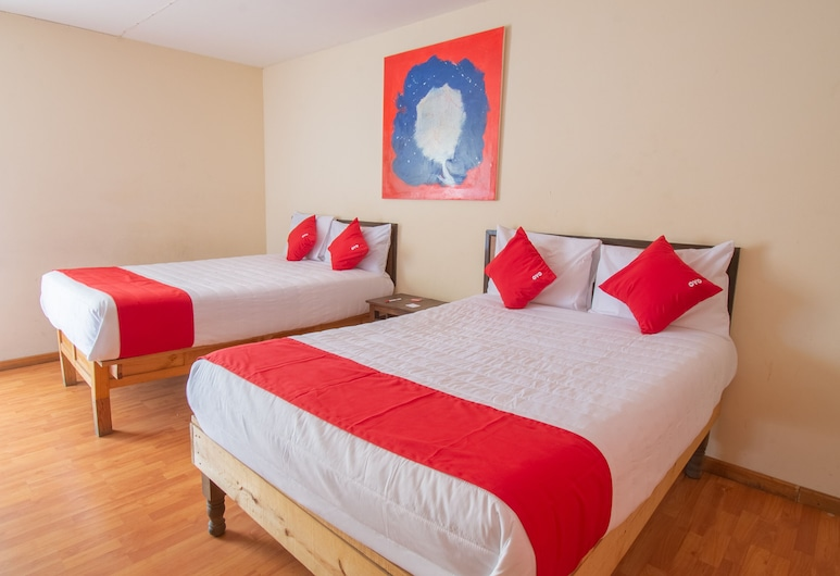 OYO Hotel El Campanario, Zacatecas, Családi szoba, Vendégszoba