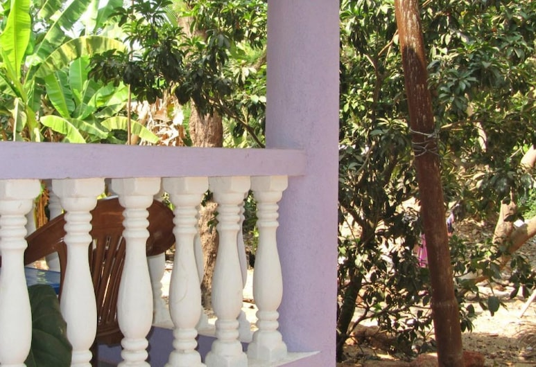 Fraddie Guest House, Calangute, Deluxe-Zimmer, Balkon