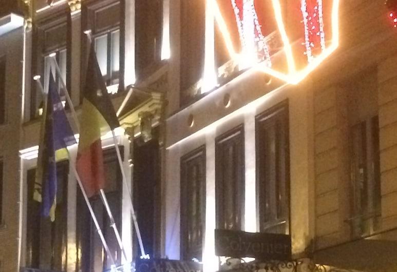 Hotel Colvenier, Antwerpen, Fassade der Unterkunft – Abend/Nacht