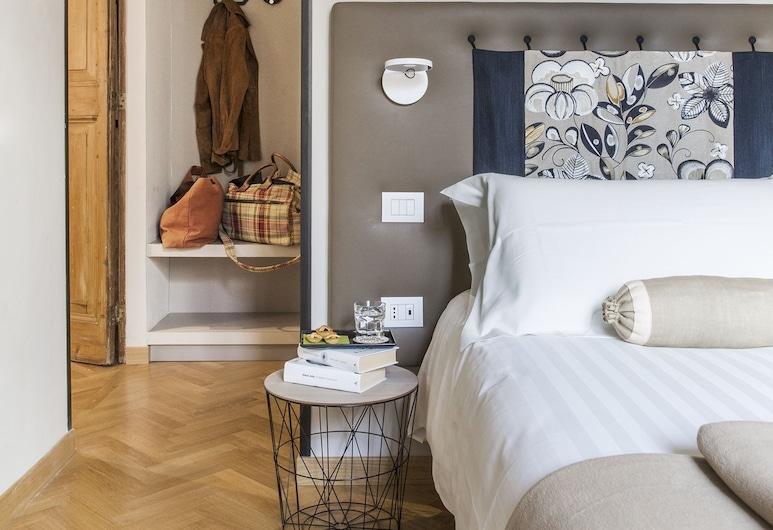 MyNavona, Róma, Superior szoba kétszemélyes vagy két külön ággyal, 1 king (extra méretű) franciaágy, Vendégszoba