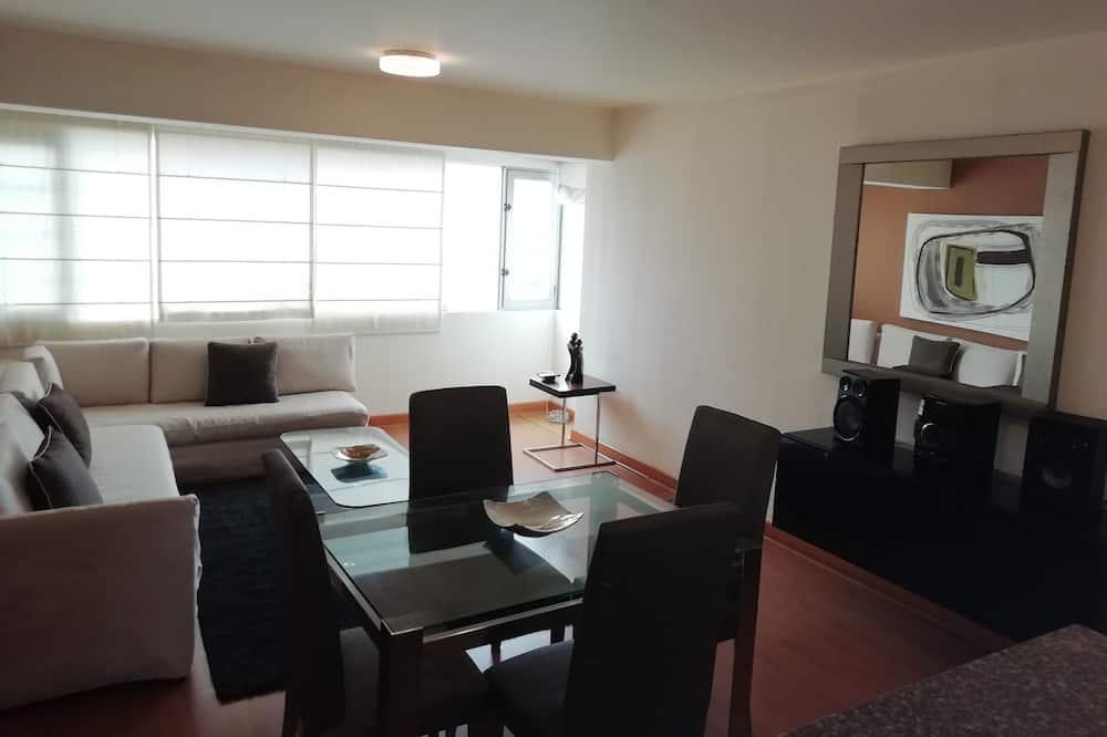 Apartmán typu Superior, 1 ložnice, soukromá koupelna - Obývací pokoj
