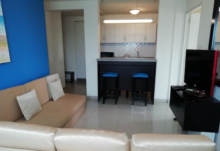 APART PERU, Lima, Economy Apartment, Private Bathroom, Living Room