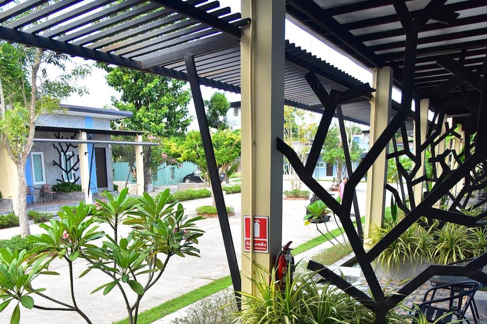 Quarto Duplo Standard - Terraço/Pátio Interior