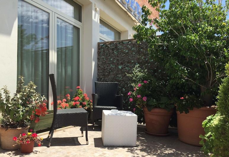 Hotel Poetto, Cagliari, Basic-Doppelzimmer, Terrasse/Patio