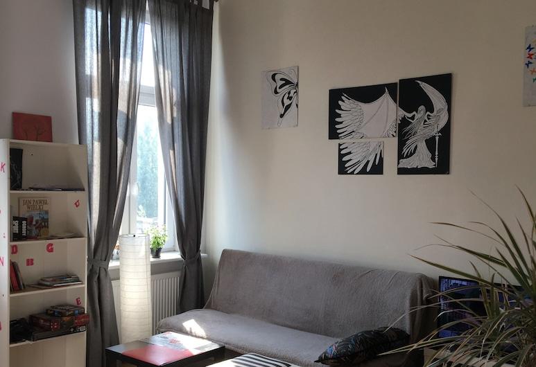 Art Hostel, Krakow, Oppholdsområde