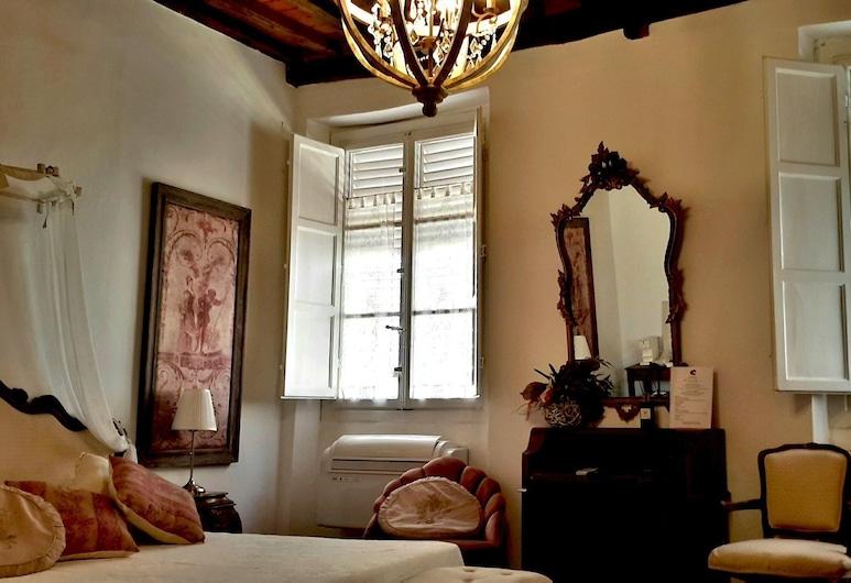 La Butterfly Relais, Lucca, Suite de Luxo, 1 cama queen-size, Casa de Banho Privativa, Quarto
