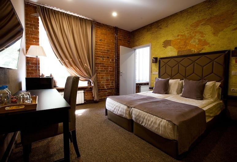 Hostel KRAS'INN, Moskva, Standard dubbelrum - privat badrum, Gästrum