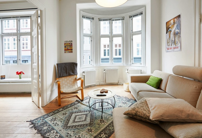 Big & Charming apartment in City Center, Κοπεγχάγη, Διαμέρισμα, 2 Υπνοδωμάτια, Καθιστικό