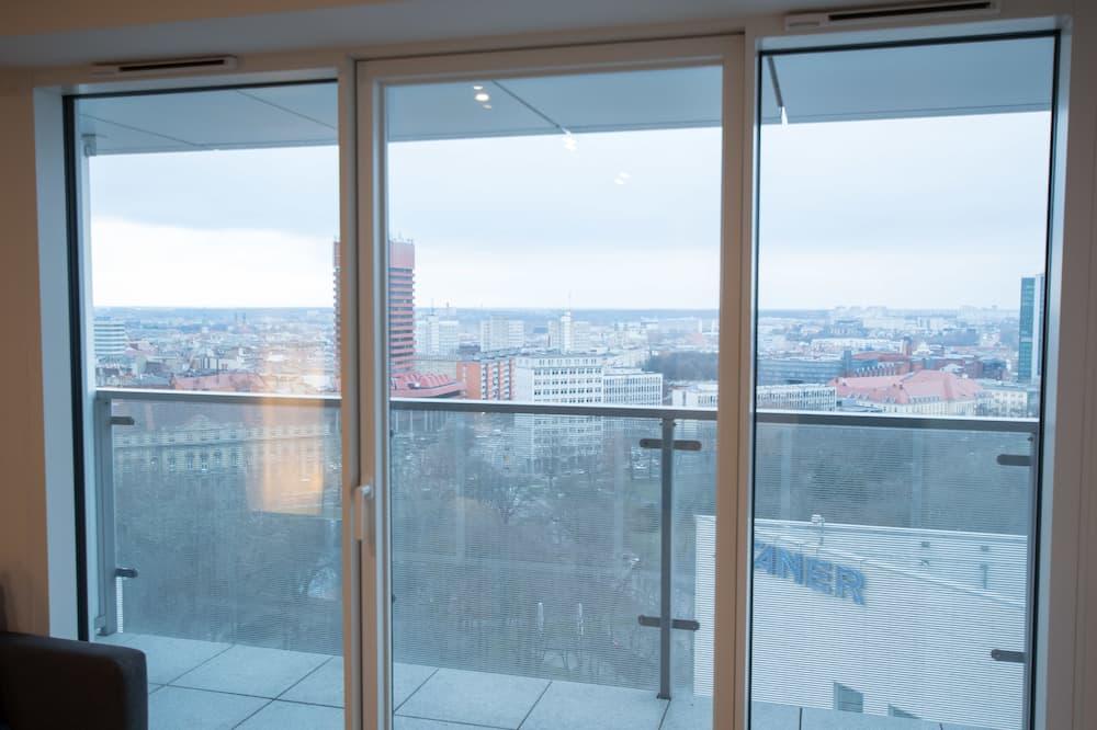 Suite Studio, 1 chambre, vue ville - Balcon