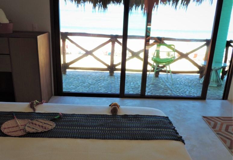Hotel Peix Sayulita & Beach Club, Sayulita, Monolocale Basic, 1 letto queen, balcone, vista oceano, Vista dalla camera