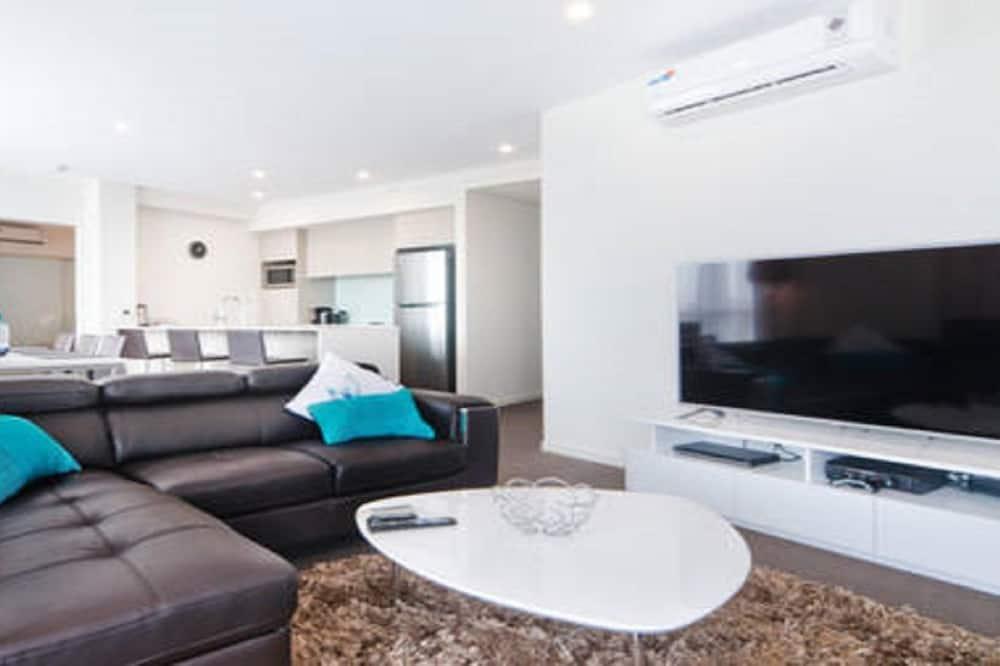 Apartmán, 3 ložnice - Obývací pokoj