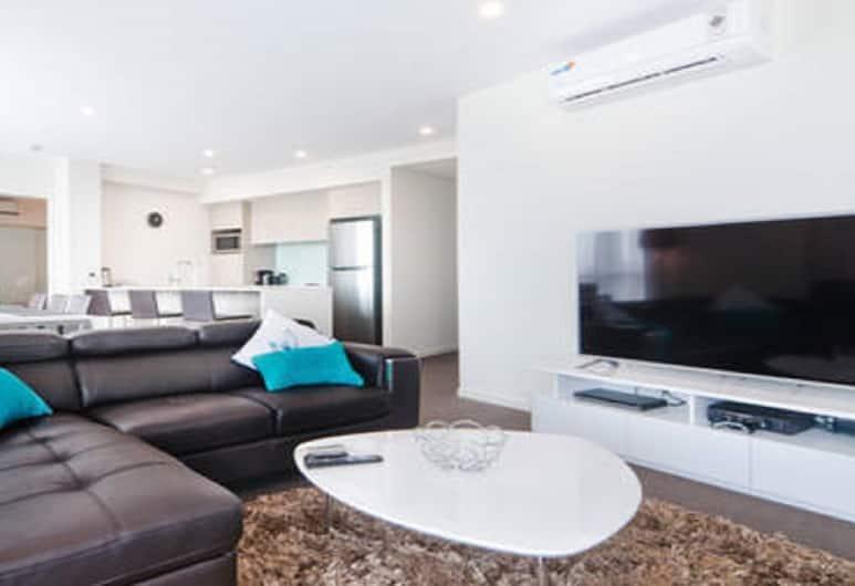 City Spring Apartment, Rivervale, Huoneisto, 3 makuuhuonetta, Olohuone