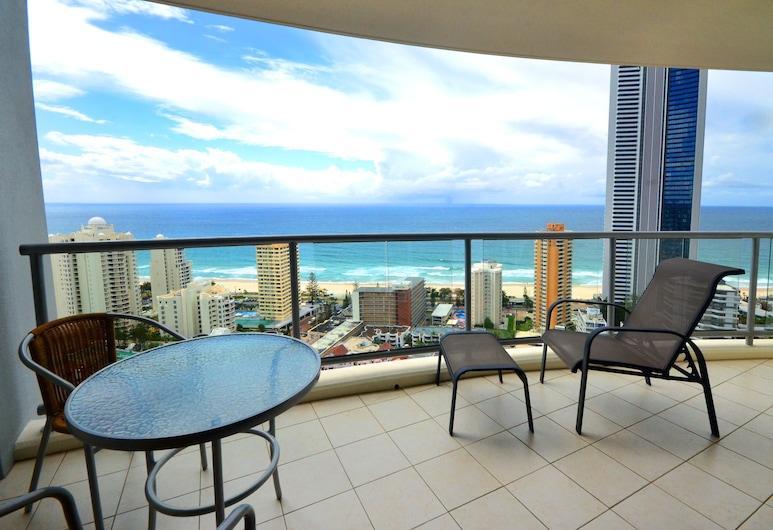 Chevron Renaissance - HR Surfers Paradise, Surfer's Paradise, Appartement, 2 chambres, 2 salles de bains, vue océan (Apartment 1293), Balcon