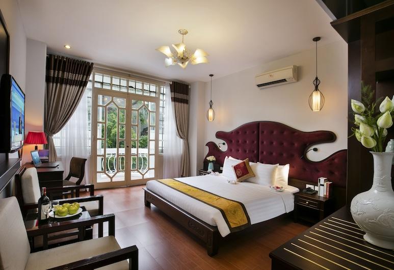 Labevie Hotel, Hanoi, Deluxe-Zimmer, Balkon, Stadtblick, Zimmer